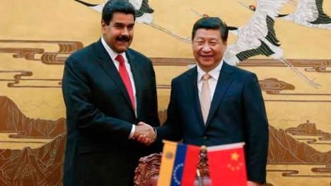 Maduro-en-china